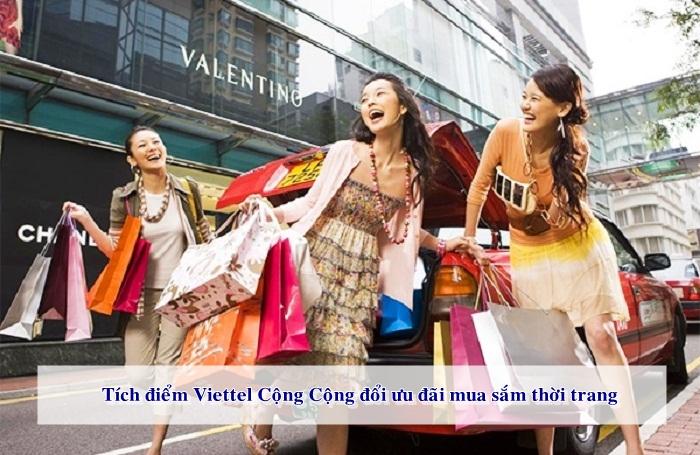 Đổi điểm Viettel nhận nhiều ưu đãi thời trang khác nhau